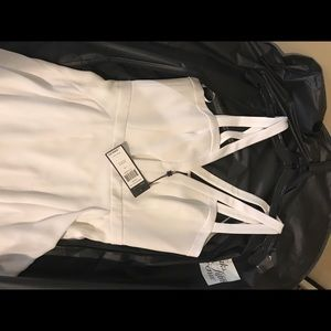 BCBG Juliana White Dress Size 2